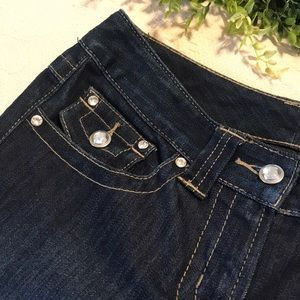 INC International Concepts Jeans with Rhinestones